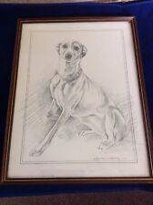 Pollyanna Pickering Framed Whippet Print