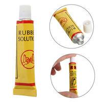 2pcs/Set Bicycle Tire Rubber Patches Repairing Repair Tube Tool Kit Glue