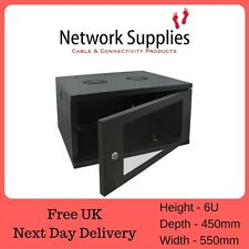 "6u 450mm Deep 19"" armadio da appendere i pannelli dati PATCH RACK PDU sistemi Radio Network"
