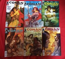 CONAN THE BARBARIAN #1,2,3,4,5,6 Dark Horse Brian Wood 2012