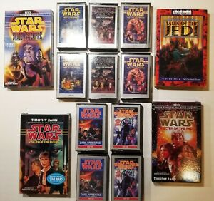 STAR WARS AUDIOBOOK COLLECTION Cassettes of Shadows Heir Tales Jedi MORE!