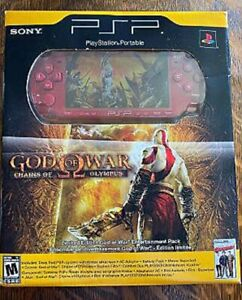 Sony PSP God of War Chains Of Olympus Limited Edition Console Factory Sealed