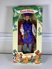 "VINTAGE DISNEY Snow White The PRINCE 11.5"" DOLL 80s Toys Age 3+ NEW In BOX"