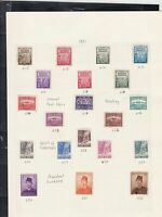 indonesia stamps page ref 16962