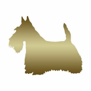 Scottish Terrier Dog Breed - Decal Sticker - Multiple Colors & Sizes - ebn2007