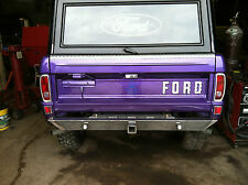 "1966-1977 FORD ""Shoebox"" BRONCO REAR BUMPER"