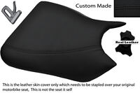 GREY /& BLACK 11-12 CUSTOM FITS SUZUKI GSR 750 FRONT RIDER LEATHER SEAT COVER