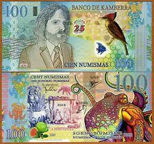 New listing Kamberra, 100 Numismas, 2013, Unc > Commemorative > Superb, Octopus