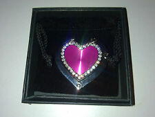 Pink Heart shaped Handbag Hanger / hook NEW