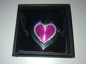 Pink Heart shaped Handbag Hanger / hook NEW