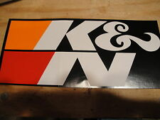 K&N Filters Contigency Decal! LOOK!! Free Shipping!!