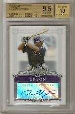 2006 BOWMAN STERLING JUSTIN UPTON BGS 9.5 PROSPECTS AUTOGRAPH ROOKIE