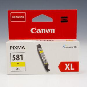 Genuine Canon Ink Cartridge Pixma - Boxed - 581 Y XL