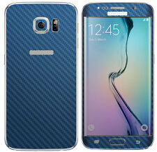 Blue Fitted Cases and Skins for Samsung Galaxy S6 Edge