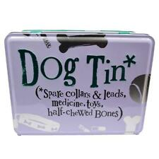 Bright Side Dog Tin For Spare Collars, Medicine and Toys - Dog Owner`s Gift Idea