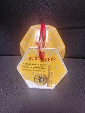 NEW A Bit of Burt's Bees Naturally Gifted Tin Hand Salve Beeswax Lip Balm