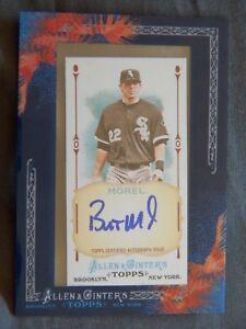 Chicago White Sox Brent Morel 2011 Topps Allen & Ginter's Framed Mini Auto Card