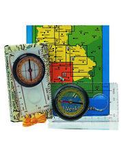 Karten Kompass Wanderkompass mit Umhängekordel