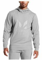 Mission Men's VaporActive Gravity Pullover Hoodie, Alloy Heather Grey, XX-Large