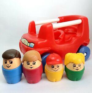 Little Tikes Step2 Chunky people figure toy car Vintage