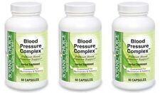 BLOOD PRESSURE COMPLEX GARLIC HAWTHORN VITAMIN B 6 12 C CHROMIUM FOLATE 180 CAPS