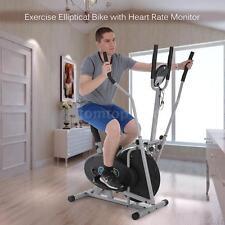 Elliptical Bike 2 IN 1 Cross Trainer Exercise Fitness Machine Upgraded Model HOT