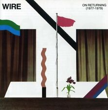 Wire - On Returning - Wire 1977-1979, 2000 Brand New and Sealed Music Audio CD