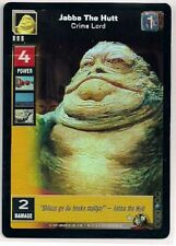 Star Wars Young Jedi CCG Reflections FOIL #76 Jabba The Hutt, Crime Lord LINE