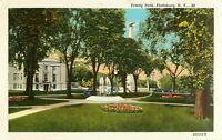 Postcard Trinity Park, Plattsburg, NY