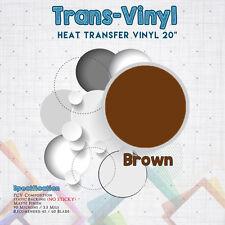 T Shirt HTV Vinyl for Garment Clothing Heat Press Transfer Sold by yard/Sht
