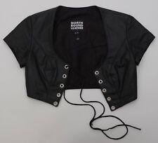 New sz S / P North Bound Leather corset bustier bra top jacket coat
