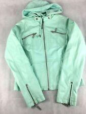 JouJou Jacket~Women's Viscose Size Small~Sea Green/Blue