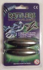 Rattler Rattlers Rattlesnake Egg Hematite Magnets OID Singing Power Stone Ty9766 1 X Set of 2