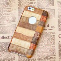 Ultra Thin Slim Leather Back Case Color Crocodile Cover For Apple iphone 6 7 8