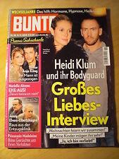 Bunte Heidi Klum Selena Gomez Rosie Huntington-Whiteley Sylvie Meis Ang. Jolie