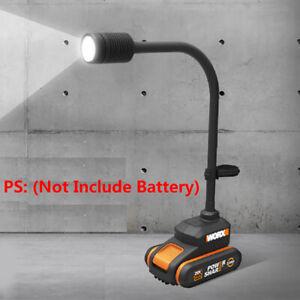 1Pcs WORX WX028 20V 4-PIN WA3551.1/3864/3553 Li-ion Batteries 30W LED Worklight
