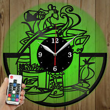 LED Vinyl Clock Ratatouille LED Wall Art Decor Clock Original Gift 2762