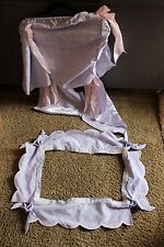 Replacement Parts Canopy Top and Bottom ruffle for American Girl Bitty Baby Bed