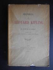 """""""Le livre de la jungle"""" Rudyard Kipling 1922"""