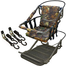 Tree Stand Climber Climbing Hunting Deer Bow Game Hunt Portable 300lb