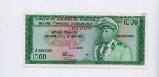SPECIMEN: Burundi - 1000 Francs 1965  ( P14) UNC Banknote