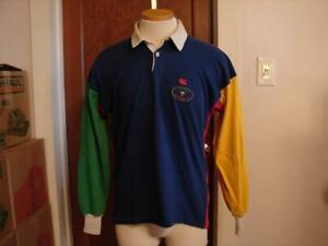 Vintage Canterbury Of New Zealand Cairns Australia Rugby Shirt Size Large