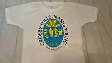 New listing Deadstock! Vintage 1974 Csny Concert Shirt Crosby Stills Nash Young Tour Wmms