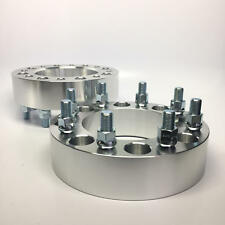 """(2) 3"""" Wheel Spacers 8x165.1 to 8x165.1 9/16 Stud For Dodge Ram 2500 3500 8x6.5"""