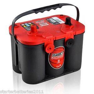Optima Red Top RT U 4.2 VRLA AGM SPIRAL CELL Battery - RTU 4.2 8004-250 8004-703