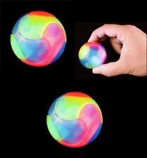 (2) Light Up Smooth Ball Bouncing Flashing Sensory Fidget