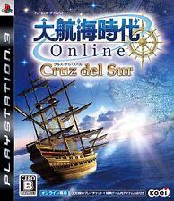 USED Daikoukai Jidai Online: Cruz del Sur Japan Import PS3