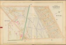 1888 E. ROBINSON MONROE COUNTY NY ROCHESTER HOUSE OF INDUSTRY COPY ATLAS MAP