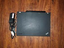 Lenovo ThinkPad T500 | Core Duo-P8600@2.40 GHz |4GB RAM |320 GB HDD|WIN 7. PROF|