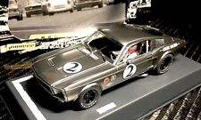 Pioneer Slot Car P061 1968 Ford Mustang Fastback Bare Metal Racer 2